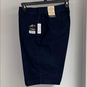 St. John's Bay Bermuda Jean Shorts Size 14w